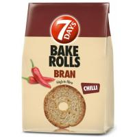 7 DAYS Bake rolls Bran chilli 160g