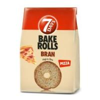 7 DAYS Bake rolls Bran pizza 160g