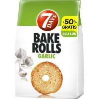 7 DAYS Bake rolls Garlic 160g