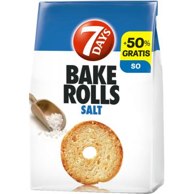 7 DAYS Bake rolls Salt 160g
