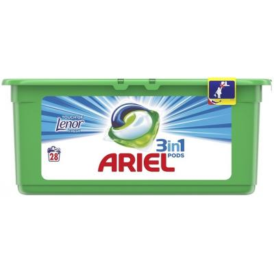 ARIEL PODS Touch of lenor 28kom