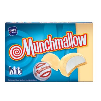 Biskvit JAFFA Munchmallow white 105g