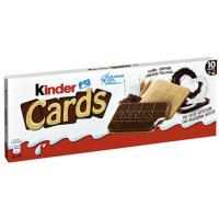 Biskvit KINDER cards 128g