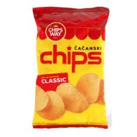 CHIPS WAY slani 150g