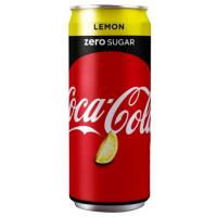 COCA COLA Zero Lemon limenka 330ml
