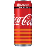 COCA COLA Zero Orange limenka 330ml