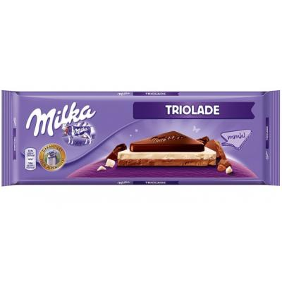 Čokolada MILKA Triolade 280g - Cenoteka