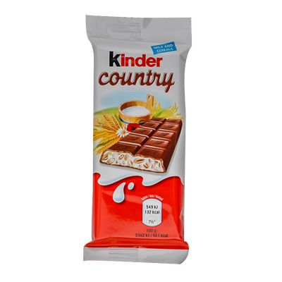 Čokoladica KINDER Country 23,5g