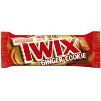 Čokoladica TWIX ginger cookie 50g