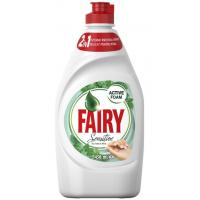 Deterdžent za posuđe FAIRY Sensitive tea tree & mint 450ml