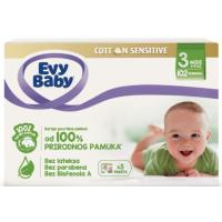 EVY BABY Cotton sensitive 3 102kom