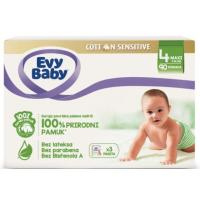 EVY BABY Cotton sensitive 4 90kom