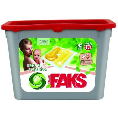 FAKS kapsule natural & sensitive 14kom