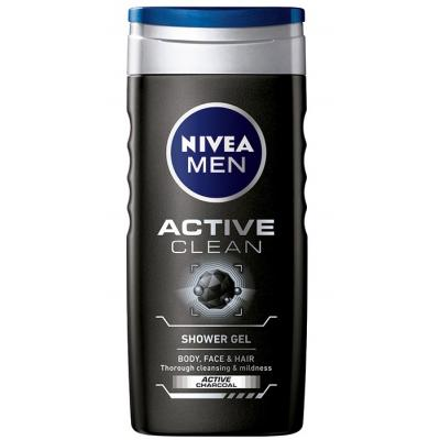 Gel za tuširanje NIVEA Active clean 500ml