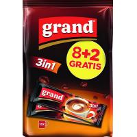 Instant kafa GRAND 3in1 8+2 gratis