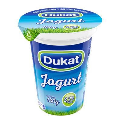 Jogurt DUKAT 3,2%mm 180g