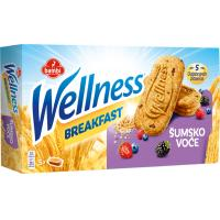 Keks WELLNESS breakfast šumsko voće 210g