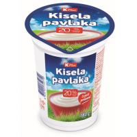 Kisela pavlaka K Plus 20%mm 180g