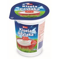 Kisela pavlaka K Plus 20%mm 400g