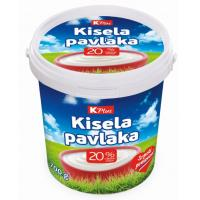 Kisela pavlaka K Plus 20%mm 700g