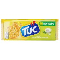 Krekeri TUC sour cream & onion 100g