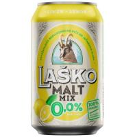 LAŠKO Malt mix lemon 0,0% 0,33l