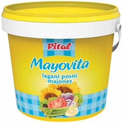 Majonez VITAL Mayovita light kantica 900g