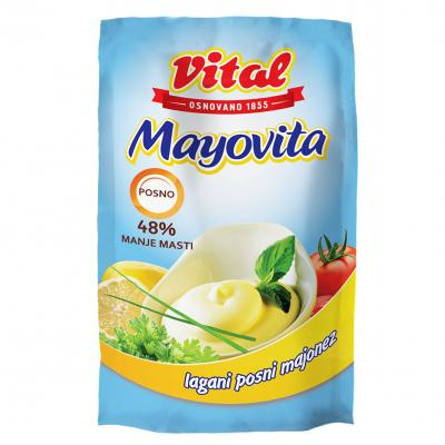 Majonez VITAL Mayovita light kesa 90g