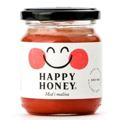 Med HAPPY HONEY malina 250g