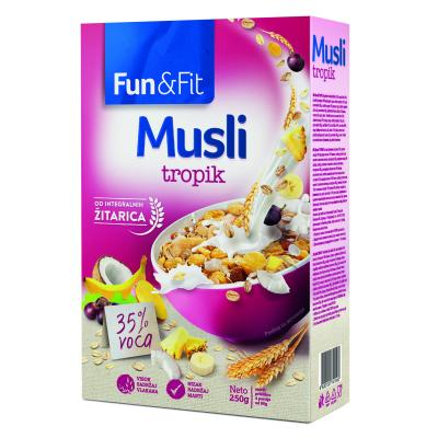 Musli Fun & Fit tropic 250g