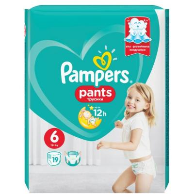 PAMPERS Pants SP 6 19kom