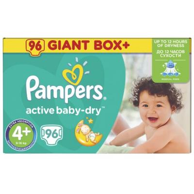 PAMPERS pelene Giant box 4+ 96kom