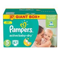 PAMPERS pelene Giant box 5 87kom