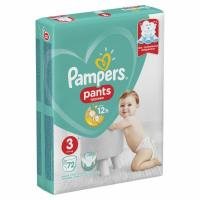 PAMPERS pelene Pants GP 3 72kom