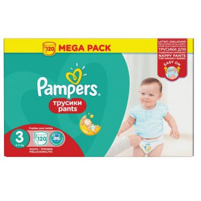 PAMPERS pelene Pants MB 3 120kom