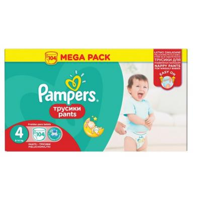 PAMPERS pelene Pants MB 4 104kom komada