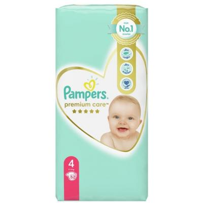 PAMPERS Premium care 4 52kom