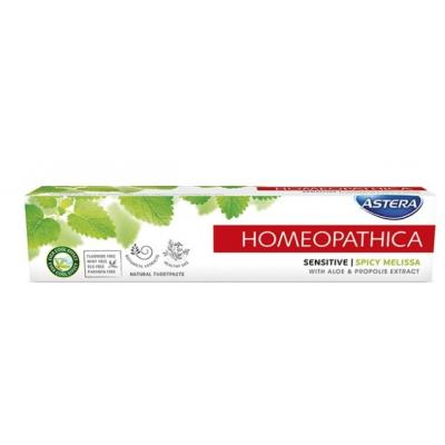 Pasta ASTERA HOMEOPATHICA sensitive 75ml
