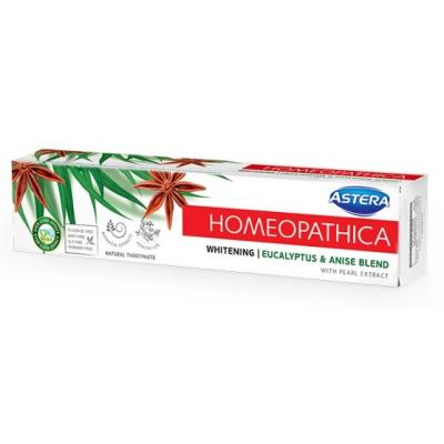 Pasta ASTERA HOMEOPATHICA white 75ml