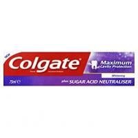 Pasta COLGATE Max Cavity Protec. White 75ml