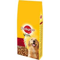 PEDIGREE Briketi Adult govedina i živina 15kg