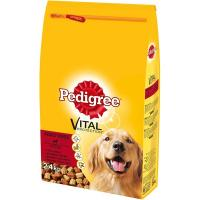 PEDIGREE Briketi Adult govedina i živina 2,4kg