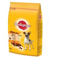 PEDIGREE Briketi Adult mini živina i povrće 2kg