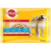 PEDIGREE Junior piletina i ćuretina 4x100g