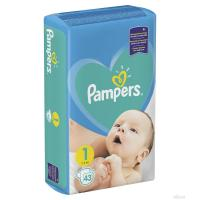 Pelene PAMPERS New baby 1 newborn 2-5kg 43kom