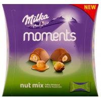 Praline MILKA Moments nut mix 169g