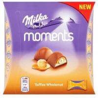 Praline MILKA Moments Toffee 97g