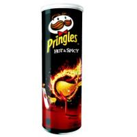PRINGLES hot & spicy 165g