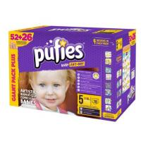 PUFIES pelene Baby art BOX 5 78kom