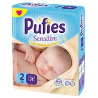 PUFIES pelene sensitive 2 74kom